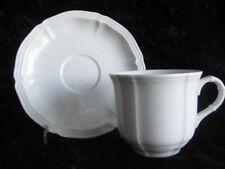Villeroy /& Boch Arco weiß Untertasse für Kaffeetasse 15cm 3 Stück vorhanden