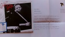"Wamba Salif Keita 7"" vinyl single record UK STERNS720 demo with letter ultrarare"
