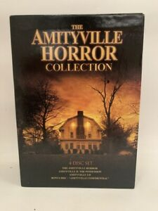 THE AMITYVILLE HORROR COLLECTION rare US 4disc DVD BOX SET cult