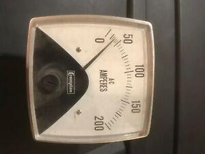Crompton 0-200 AC Amp meter