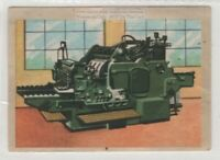 First Simple Typography Printing Press Machines  Vintage Ad Trade  Card