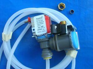 NEW genuine INVENSYS / S-86QC N / K-78186 icem water valve  #W10498974 120V +