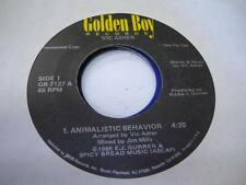 Hear! Modern Soul Boogie 45 Vic Asher Animalistic Behav