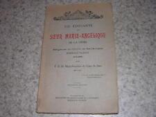 1929.vie soeur Marie Angélique de la Croix.ordre Sainte-Claire Bordeaux Talence