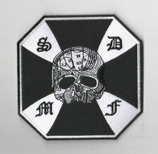 """HEAVY METAL BAND BLACK LABEL SOCIETY BLS iron-on PATCH: BLS SKULL CROSS 4.5"""""""