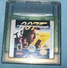 007: The World is Not Enough (Nintendo Game Boy Color, 2001)