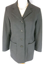 Gorgeous Sz 12 Witchery Grey Designer Corporate Jacket