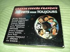 """COFFRET 2 CD """"GRANDS SUCCES FRANCAIS - 32 HITS POUR TOUJOURS"""" Isabelle AUBRET, C"""