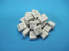 (25) EVOX MMK0 (MMK) Radial Metallized Polyester Film Capacitors 0.82uF 5% 100V
