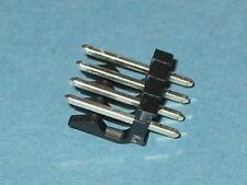 Molex Negro 4 Forma Cuadrada Pin Header 3.96 mm pitch Qty = 5