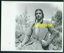 SAL MINEO VINTAGE 8X10 PHOTO 1958 WALT DISNEY TONKA