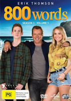 800 Words : Season 3 : Part 1 (DVD, 2-Disc Set) NEW