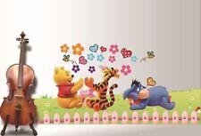 Winni Pooh Wandtattoo Kinderzimmer Aufkleber Winnie Puh Wandsticker Disney