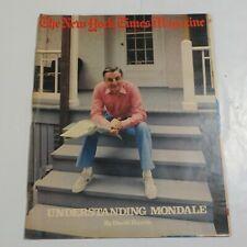 New York Times Magazine June 1983 Understanding Mondale PC