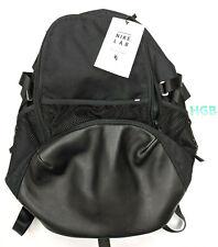 Nike NikeLab Back Pack Triple Black School Gym Cushioned Straps BA5762-010 NWT