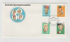 AUSTRALIA POST AUSTRALIAN SPORTING PERSONALITIESFIRST DAY COVER  18/02/1981 MINT