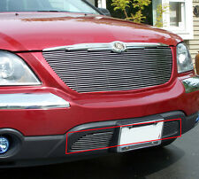 Fit 2004 2005 2006 Chrysler Pacifica Bumper Billet Grille Overlay Grill Insert