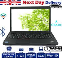 Lenovo ThinkPad E530C 15.6-inch Laptop Intel i3 3rd-Gen 2.5Ghz 4GB RAM 500GB HDD