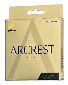 Brand New Unused Nikon Arcrest Protection Filter 72mm AR Coat NC Protector