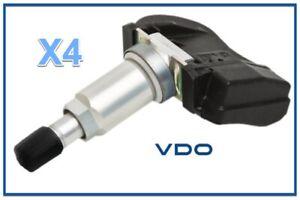 4 TPMS Kits VDO For Chrysler DODGE JEEP Mitsubishi Suzuki 315 Mhz
