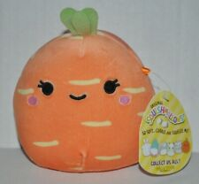 """Squishmallow Carrot Caroleena Easter (5"""") *SO CUTE* NEW"""