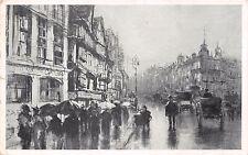 London Uk Staple Inn-Charcoal Sketch~F Hopkinson Smith~Art Institute Postcard