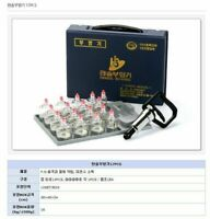 HANSOL Vacuum CUPPING SET 17Cups Korea Therapy Massage Acupuncture Oriental_NU