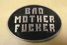 Bad Mother jodido Pulp Fiction Esmalte Hebilla de cinturón-toma de 4CM de ancho cinturón