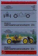 1911 Marmon WASP voiture timbres (les dirigeants du monde / auto 100)