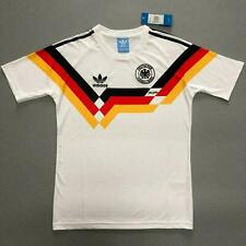 West Germany Retro Shirt Home 1990 World Cup Classic Vintage Sizes UK SELLER