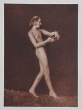 Nini & Carry Hess 1925 Photo Heliogravure 23x31cm Nude Nus Akt Hessoise Hessen