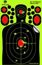 Shooting Range Paper Target Splatter and Self Adhesive 9.5''*14.5'' QTY 25
