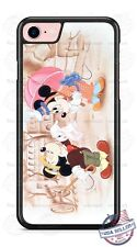 Gentleman Mickey Mouse with Minnie Phone Case Cover for iPhone PLUS Samsung etc