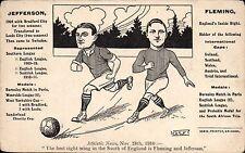 Soccer / Football. Swindon. Jefferson & Fleming by Drew, Swindon.