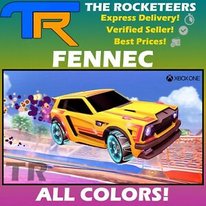 [XBOX] Rocket League Every Painted FENNEC Totally Awesome Crate Battle-Car
