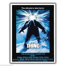 The thing 1982 movie film pub métal mural signe plaque poster impression photo art