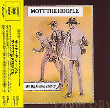 MOTT THE HOOPLE - ALL THE YOUNG DUDES ( MINI LP AUDIO CD with OBI )
