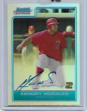 2006 Bowman Chrome Kendry Morales RC Auto Refractor/500