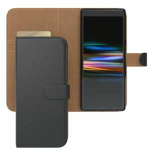 Case for Sony Xperia 10 Phonecase Protective Case cover Flip Case Black