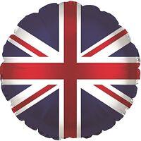 "Union Jack | Great Britain | GB 18"" Party | Foil Balloon 1-5pk"