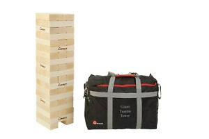 Giant Tumble Tower - Hardwood - Builds to over 150cm!