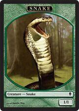 4x TOKEN Serpente 1/1 - Snake 1/1 MTG MAGIC Zen Ita