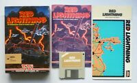 Amiga - RED LIGHTNING Turn-based Strategy Tactics Game - SSI 1989 - TESTED