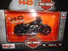 Maisto Harley Davidson Sportster Iron 883 2014 Black S33 Series 33 1/18