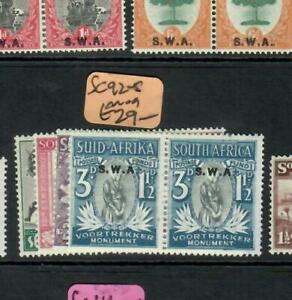 SOUTH WEST AFRICA (PP1909B)  SEMI POSTAL SET  SG 92-5    MOG