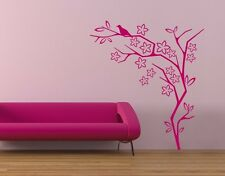 Flower Bush - Highest Quality Wall Decal Sticker