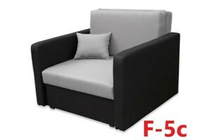 Single Sofa bed Chair Kids Guest Bed