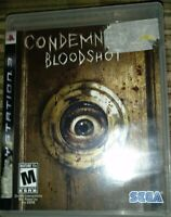Condemned 2: Bloodshot (Sony PlayStation 3, 2008)
