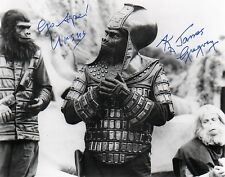 James Gregory Planet of the Apes 8x10 AUTOGRAPHED Signed Photo POA