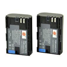 DSTE® 2x LP-E6 LP-E6N Rechargerable Battery for Canon EOS 5D Mark II New